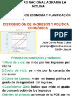 Distribución de ingresos y Política Económica