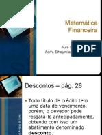 Aula 07 de 10 - Matemática Financeira (11-03-10)