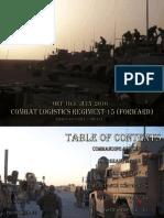 CLR-15 (FWD) July Edition Newsletter
