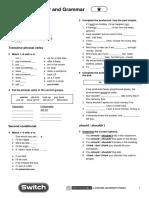 Vocabulary Grammar 1star Unit7