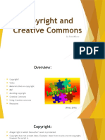 copyright and creative commons