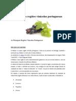 As Principais Regiões Vinícolas Portuguesas