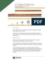 Bare Copper Conductors Data Sheet