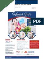 Health Fair Flyer 050717