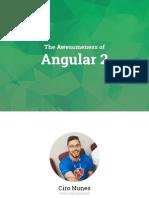 The Awesomeness of Angular2