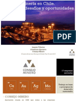 Minería en Chile. Principales Desafíos y Oportunidades Mayo 20151