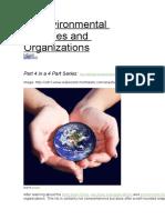 25 Environmental Agencies and Organizations