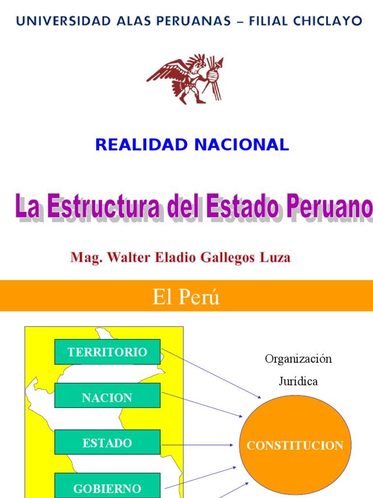 3 La Estructura Del Estado Peruano