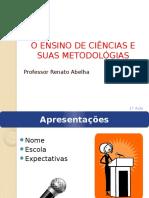 o ensino de ciencias e suas metodologias