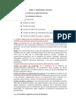TEMA 7 - Habilidades Sociales