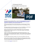 RSPCA/Freedom Food & Seal Killing FOI Backgrounder May 2017