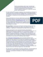 El Desarrollo de La Práctica Odontológica Debe Estar Regulada Por Métodos Técnicas y Procedimientos de Bioseguridad