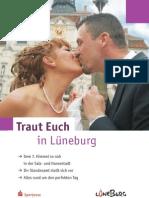 Traut Euch - Lüneburger Hochzeitsbroschüre