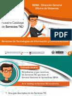 Catalogo de Servicios TIC Enlace 2017