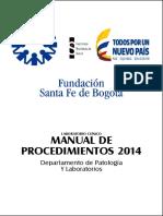 Manual de Tecnicas y Procedimientos Examenes de Laboratorio