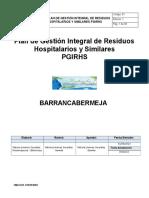 Plan de Gestión de Residuos Fabiola Jimenez