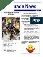2nd grade news may 2017