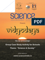 Vidyodaya Study Activity on Science and Society