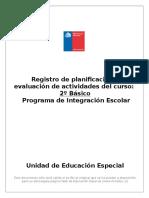 Registro de Planificación