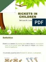 Rickets in Children
