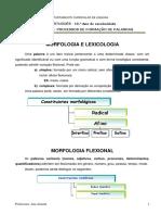 Ficha 7 Formação de Palavras