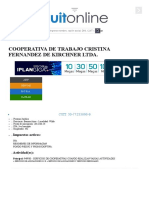 Cooperativa de Trabajo Cristina Fernandez de Kirchner Ltda