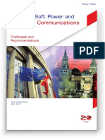 Russia's Soft Power and Strategic Communications Challenges and Recommendations