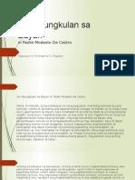 Panunuring Pampanitikan Report