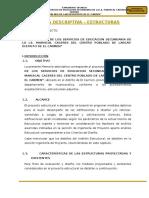 01 Mem. Descriptiva - Estructuras LARCAY