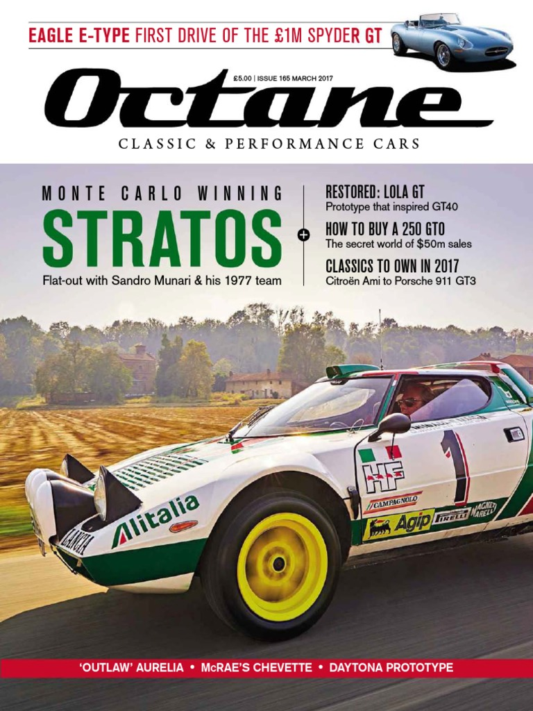 Etonnant Octane UK Issue 165 March 2017.pdf | Auto Racing | Formula One