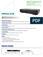 DVR 4 CANALES CPCAM DR040