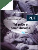 Goran Markovic - Tri Price o Samoubicama