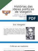 Histórias Das Ideias Políticas de Voegelin