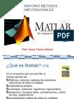 MATLAB Metodos Computacionales OTG 01