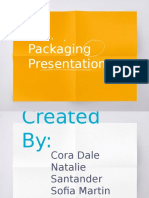 packaging presentation