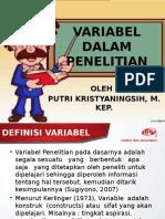 VARIABEL dalam penelitian putri.pptx