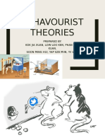 Behavourist Theory