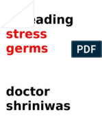 Promotion of Stress Germs Dr. Shriniwas Kashalikar