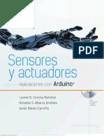 Sensores y Actuadores. Aplicaciones Con Arduino - Corona, Abarca & Mares