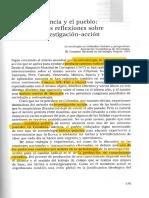 Fals Borda, O. (1981). La Ciencia y El Pueblo Nuevas Reflexiones Sobre La Investigación-Acción.