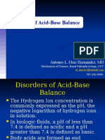 Acid Base Disorder 2011