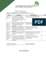Cronograma de Actividades Emilce Valencia