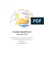 Paradise Island Resort a Completed Business plan