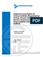 Reglamento C-027 Contraloria General Del Estado