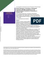 Guidelines Dementia Biological Psychiatry