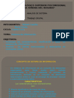Análisis de Sistema (CUARTO CICLO)