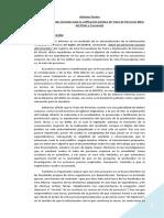 Procuradoria Contra La Trata y Explotacion. Informe de Causas Archivadas