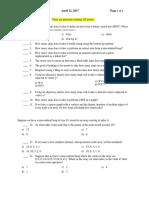 S17 CS 101 Exam 2