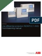 1MRK505164-BEN G en Line Differential Protection IED RED670 Pre-configured
