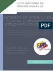 Patrones de Persecución contra el movimiento estudiantil colombiano (2009-2016)